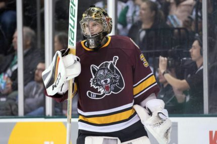 Goaltending depth has been a luxury all season for the Chicago Wolves, and it should pay dividends come playoff time