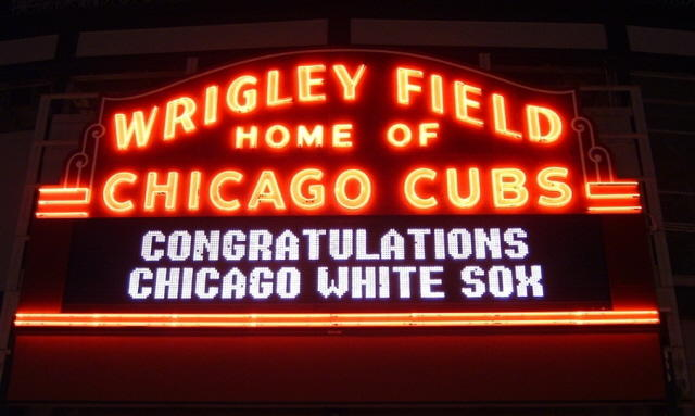 wrigley sign