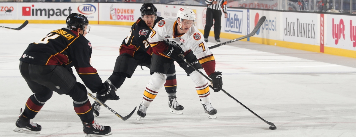 Wolves defeat Monsters by score of 5-1, as Chicago's no. 7 starts the Carr