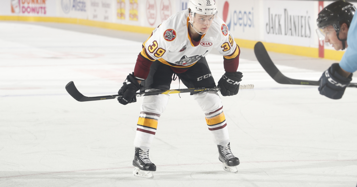 Wolves forward Reid Duke is no longer a junior player in the Western Hockey League, that much is certain